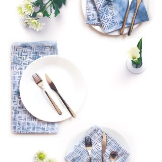 DIY Patterned Napkins