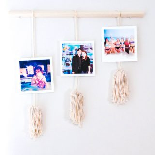 Mini Photo Wall Hanging