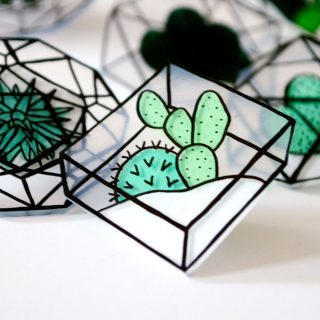 DIY Terrarium Pins