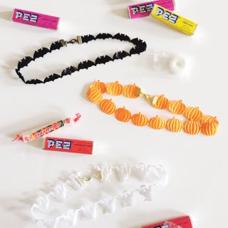 DIY Halloween Chokers
