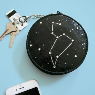 DIY Constellation Clutch