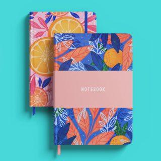 Citrus Splash Notebook Set